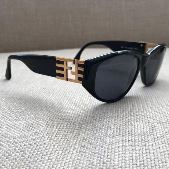 ffe024f87f52 Fendi Accessories - Fendi black vintage sunglasses